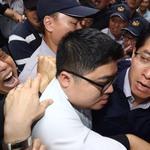 立委、官員遭反年改團體毆打 立法院、行政院同表譴責