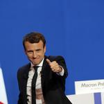 法國政壇「黑馬」馬克宏翻轉政局  總統大位只差一步