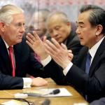 G2管不動北韓 美國國務卿提勒森紐約會見中國外長王毅