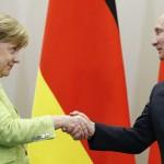 梅克爾破冰會普京 兩人一致同意烏克蘭東部應立刻停火