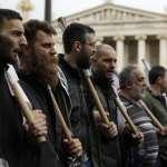 萬人上街抗議撙節 希臘警催淚瓦斯伺候