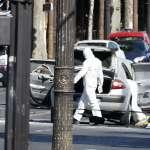 巴黎驚魂》狂徒駕車滿載槍械爆裂物 衝上香榭麗舍大道撞擊警車