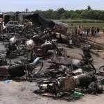 民眾忙著拿瓶罐裝油,轟然巨響成死亡公路!巴基斯坦傾倒油罐車爆炸釀153死、至少50人命危