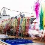 中國最大飛彈驅逐艦下水 官媒:未來將納入航母編隊