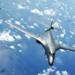 美國轟炸機飛越東海南海 意在警告中國北韓?
