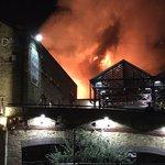 倫敦又傳大火!熱門景點肯頓市集慘遭祝融