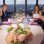 總統不好當,吃餐飯都有大學問!馬克宏這樣用心安排,與川普共進「朋友們的晚餐」