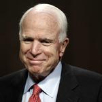 美國政壇元老、聯邦參議院軍事委員會主席馬侃 驚傳罹患腦瘤