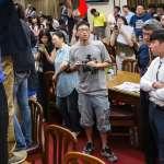 獨家》立院水球男抓到了,身分疑為台籍中國大學生