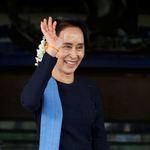 緬甸言論自由開倒車 翁山蘇姬噤聲遭圍剿