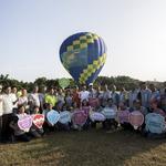 竹市熱氣球派對週末升空 林智堅率先登籃體驗