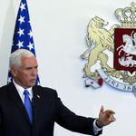 拉攏東歐盟友》美國副總統彭斯首訪喬治亞:「美國優先的意思並非只考慮美國」