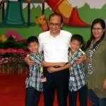 出席親子日活動 林全:政府有義務改善養小孩環境