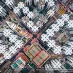 震撼視覺的密集!國家地理獲獎攝影師空拍香港,呈現都市叢林壓抑豐滿的獨特美感…