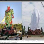 「沒有為印尼獨立建國努力過」穆斯林反華抵制關公像