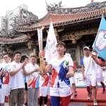 「風速女王」王惠珍接下世大運聖火 柯文哲:台北準備好了