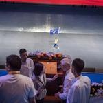 獨家》反年改突破世大運維安動線,蔡總統在貴賓區緊急聯絡國安系統