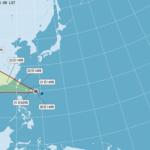 輕度颱天鴿風逼近 預計今晚發布海上警報