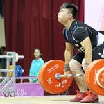 世大運男子94公斤級舉重,羅鎬至分組第5 無緣奪牌