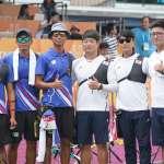 世大運射箭反曲弓團體賽,男子、女子均落敗南韓拿銀牌