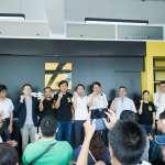 時代力量成立台南黨部,林飛帆諷:某黨推個西瓜都會當選