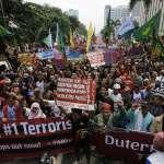 反杜特蒂示威明登場 菲國宣布公家單位停班課