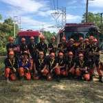 集訓高角度救援「繩」技 新北消防赴海外學習