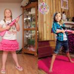 5歲竟收到步槍當禮物?稚氣臉龐配冷血武器,合法擁槍的美國小孩造就多少悲劇…
