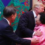 川普晚宴上的意外貴賓—曾在台灣充當慰安婦的南韓老奶奶 日本政府:南韓這麼做非常不妥