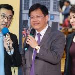2018台中市長選戰》盧秀燕、江啟臣挑戰 「林佳龍是民進黨派系共同合作」