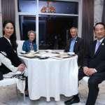 APEC代表團返台 宋楚瑜讚女兒「不辱使命,我以她為榮」