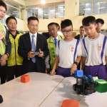 彰化全台首創 將「機器人編碼」課程導入12年國教