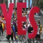 又一個「彩虹國度」報到 !澳洲同婚公投揭曉 逾6成支持 耶誕節前可望立法通過