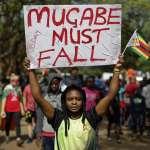 軍方政變、民眾示威,穆加比仍不為所動!辛巴威政局會有何變化?