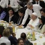 「幫助窮人,是通往天堂的護照」迎首屆世界貧窮日 教宗主持彌撒宴請七千名社會弱勢者