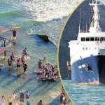 沒船員卻航行40年!4年前一度現身的「幽靈船」又在加州海邊出現?專家揭「幽靈船」身世