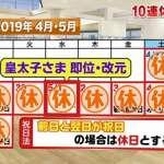 明仁天皇退位有什麼好康?日本政府研議放十天連假!