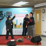 婦援會力推「友善路人甲行動」台北市第一批「家暴防治宣導講師團」成軍