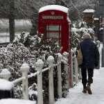 暴風雪侵襲歐洲!英國遇4年來最嚴重大雪 德國也遭殃,陸海空交通大亂
