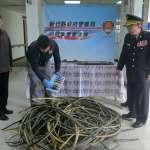 雙盜偷遍桃竹地區地下電纜線 竹縣警方佈網一舉逮人