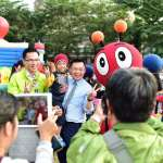 趙天麟攜手子弟兵林智鴻 相約市民以「新經濟」繼續「一起樂活」
