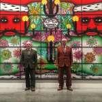 4000多句髒話貼畫廊,請觀眾賞「藝術」?英國搞怪二人組堅定高呼:我們這是生活的藝術!