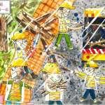 中市環保繪畫比賽 首獎細膩繪出清潔隊員辛苦一面