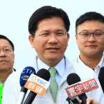 年代民調中心公布台中市長選舉民調,林佳龍與盧秀燕支持度拉近