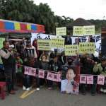 美麗華工會罷工、擋球場入口 其他員工上班受阻怒喊警方驅離