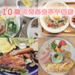 藏身府城巷弄間,台南10家文青必訪早午餐店大集合!