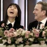 「梅開五度」的德國前總理!施羅德將與小25歲的韓國女友成婚