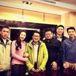 李婉鈺向扁拜年 阿扁「眉開眼笑」提醒:不要再喝了