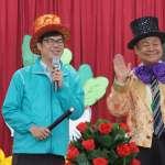 訪南區兒童之家 陳其邁與弱勢孩童一起歡渡新年