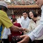蔡英文3天訪18廟、拜年屢遇嗆聲 總統府:祝福他們喜樂平安